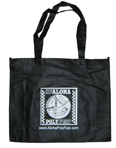 Aloha Poly Fest - San Francisco, California: Souvenir Shopping Bag